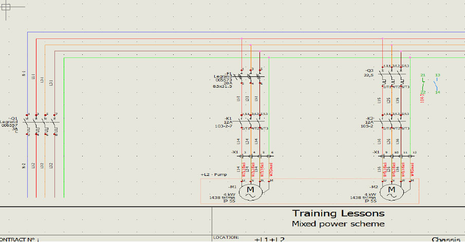 solidworks electrical creating customizing wire and numbering of rh ckonnect in Electrical Schematic Symbols Simple Electrical Schematic