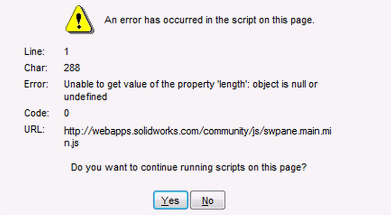 How to Resolve Script Error in SOLIDWORKS - SOLIDWORKS